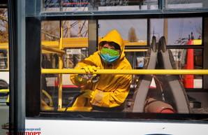 В Одессе снова взялись за дезинфекцию городского транспорта (ВИДЕО)