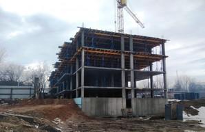 В Одессе строят опасный нахалстрой на Слободке