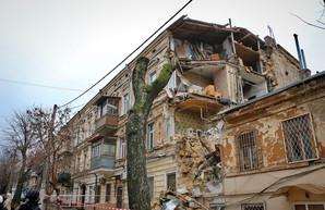 В Одессе будут восстанавливать рухнувший дом на Нежинской (ВИДЕО)