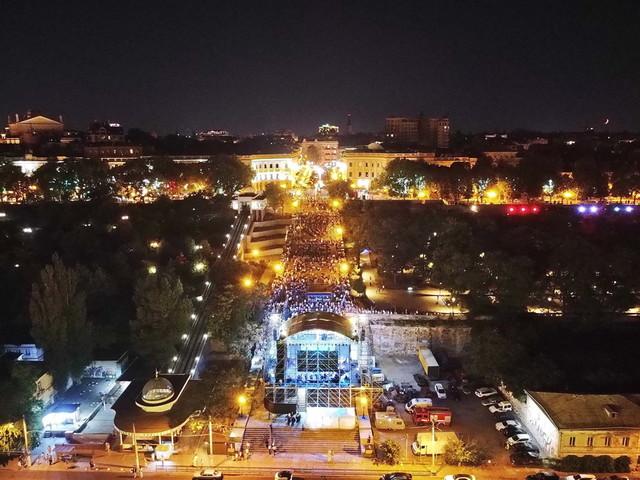 Отключения света в Одессе 22 марта