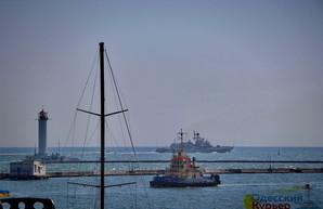 В портах Одессы и Николаева ограничено судоходство из-за военно-морских учений