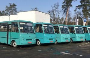 Последние выпущенные автобусы I-VAN A07A попали в Одесскую область
