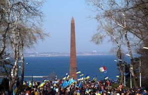 Как одесситы семь лет назад выступили за мир в Украине (ВИДЕО)