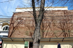 В Одессе начали ремонтировать дом Вагнера (ФОТО)