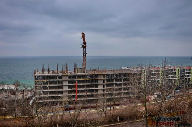 В Одессе суд запретил одну из строек у моря на 13-й Фонтана
