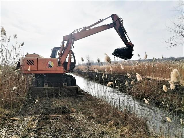 В Одессе расчищают каналы между морем и Хаджибейским лиманом