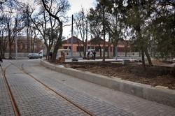 В Одессе почти закончили ремонт на Алексеевской площади (ВИДЕО)
