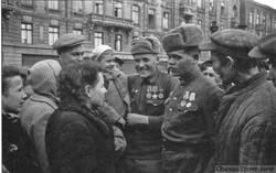 Историю освобождения Одессы показали на старых фото