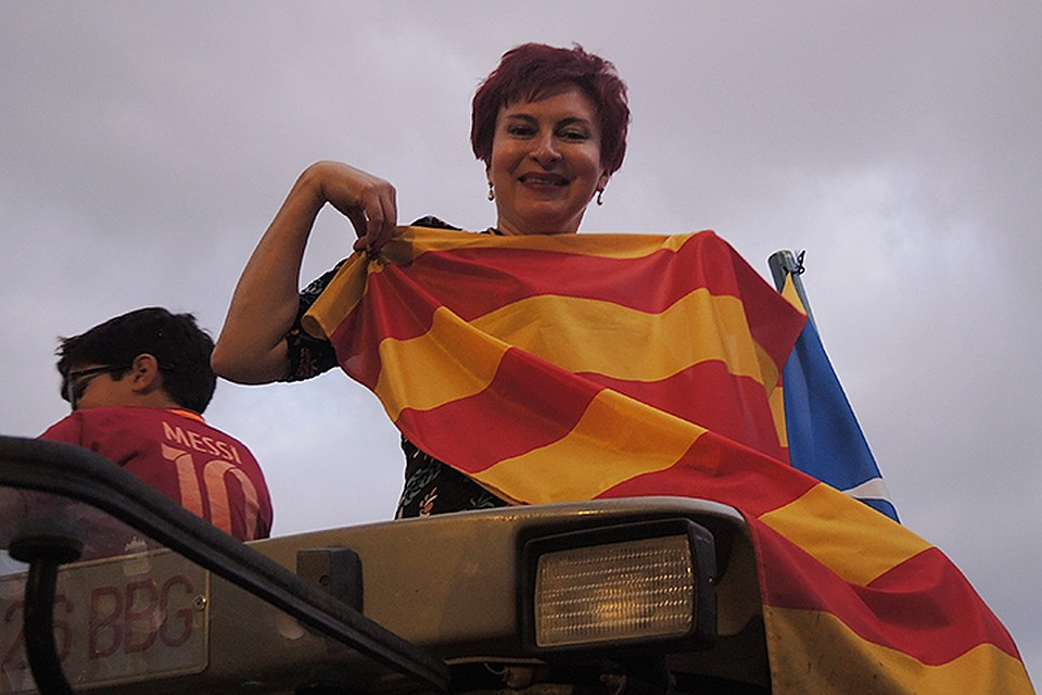 Дарья Асламова Каталония