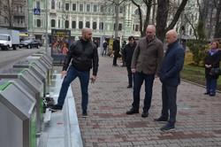 В Одессе установили очередной подземный комплекс для отходов в центре города