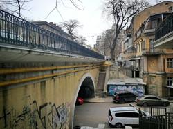 Как в Одессе ремонтируют Деволановский спуск (ФОТО)