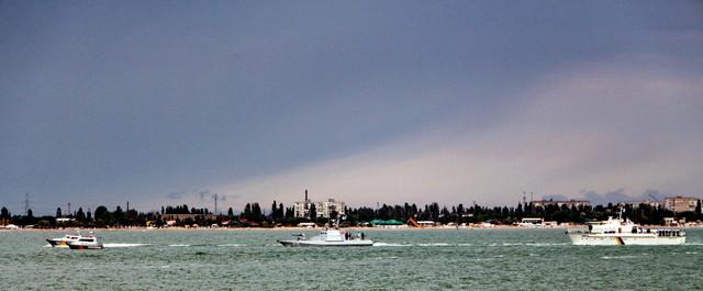 Россия устроила провокации против ВМС Украины