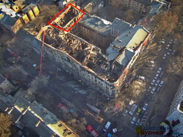 Сгоревший дом Асвадурова облсовет предлагает передать в собственность города Одессы