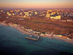 Как Одесса выглядит с моря в лучах восходящего солнца (ФОТО, ВИДЕО)