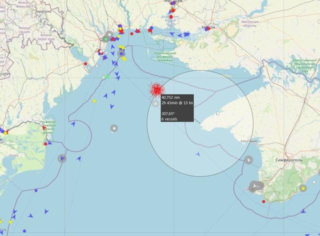 Россия задерживает украинских рыбаков в открытом море между Крымом и Одессой