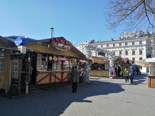 В Одессе могут снести ярмарку на улице Дерибасовской