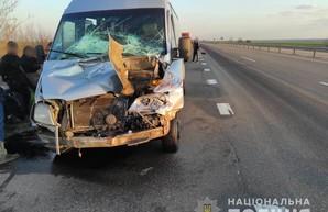 В Одесской области попала в аварию междугородняя маршрутка