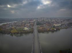 Винница глазами одессита: полет над городом и Южным Бугом (ВИДЕО)