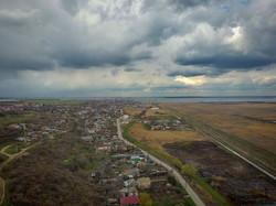 Как в Одессе выглядят с высоты птичьего полета поля орошения и Хаджибейский лиман (ВИДЕО)