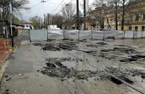 Где в Одессе идет ремонт дорог