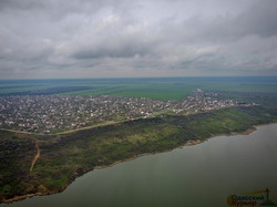 В Одесской области показали с высоты побережье Хаджибейского лимана (ФОТО, ВИДЕО)