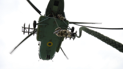 ВМС Украины показали морской и воздушный десант (ФОТО)