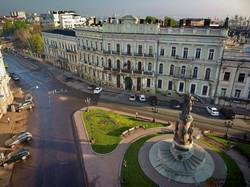 В Одессе показали с высоты памятники основателям города (ФОТО, ВИДЕО)