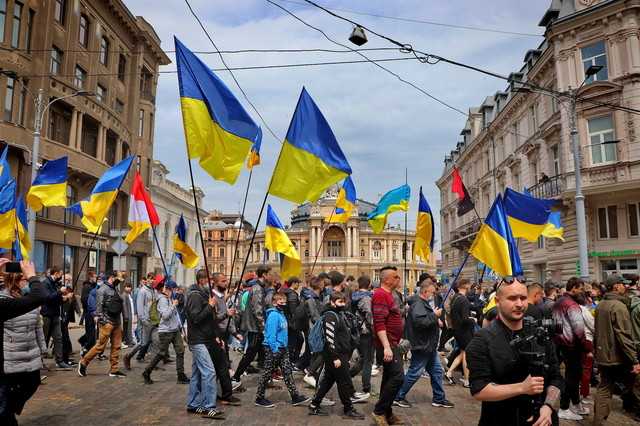 В Одессе день 2 мая прошел спокойно (ВИДЕО)