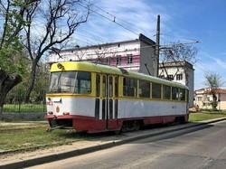 В Одессе начались испытания трамвайной конечной на Большом Фонтане (ФОТО)