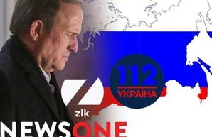 Иностранные сайты-марионетки на страже фейков Виктора Медведчука