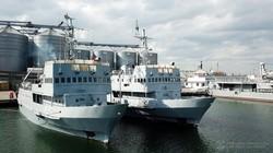 Молодые военные моряки отправились в учебный поход (ВИДЕО)