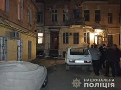 Теракт в Одессе: к входу в жилой дом прикрепили гранату на растяжке