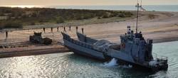Украинский флот провел учебную десантную операцию