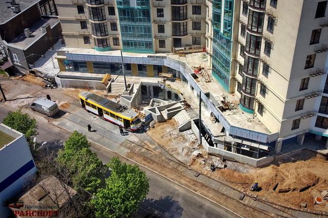 В Одессе возобновили движение трамваев на Большой Фонтан (ВИДЕО)