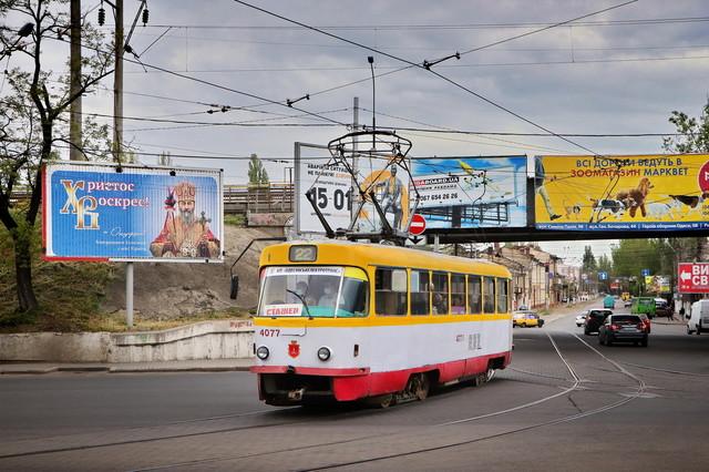 В Одессе запустили летний маршрут трамвая в Лузановку (ФОТО)