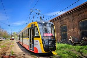 """В Одессе закупают очередной трехсекционный трамвай """"Одиссей-Макс"""" (ВИДЕО)"""