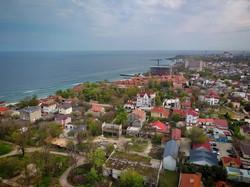 В Одессе показали с высоты над морем побережье мыса Большой Фонтан (ФОТО, ВИДЕО)