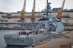 В Одессу пришел патрульный корабль Королевского флота