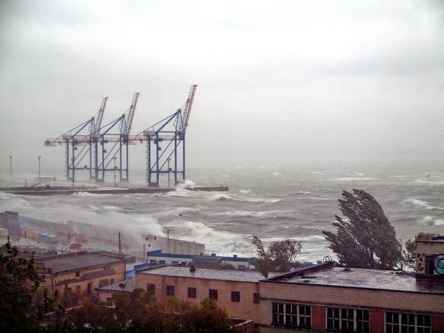 На вечер 18 мая в Одессе объявили штормовое предупреждение