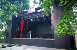 В Одессе в Летнем театре строят новую сцену