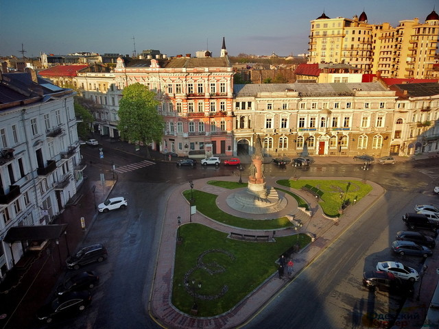 Пешеходную зону в центре Одессы откроют с 10 июня