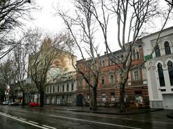 В Одессе снова протестовали против уничтожения памятников архитектуры на Ришельевской (ВИДЕО)