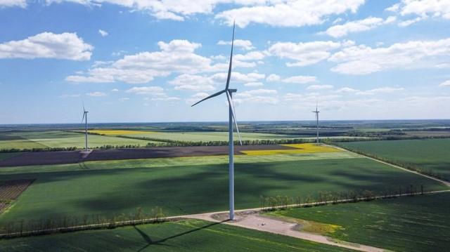 В Одесской области запустили новую ветровую электростанцию