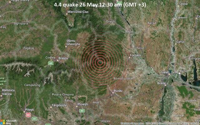До юга Одесской области дошло землетрясение из Румынии
