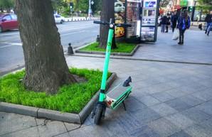 В Одессе решили разбить город на зоны для регулирования движения электросамокатов
