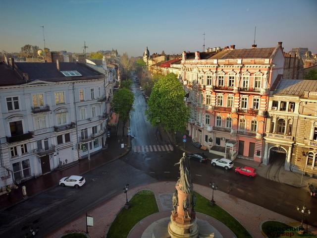 Пешеходную зону в Одесе готовят к открытию 4 июня