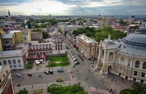 Пешеходная зона в центре Одессы: первый опыт (ВИДЕО)