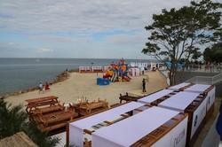 В Одессе открыли инклюзивный пляж с Голубым флагом