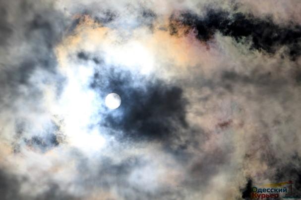 Солнечное затмение в Одессе: как это было (ВИДЕО)