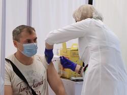 В Одессе прошла массовая вакцинация от ковида